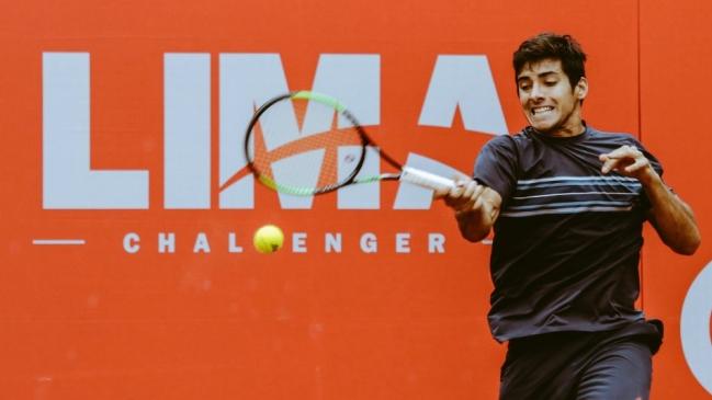 Tenis: Christian Garín ganó por segunda vez el Lima Challenger de tenis