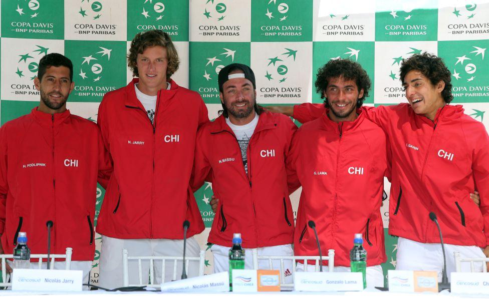 Massú entre nómina que jugará contra Austria — Copa Davis